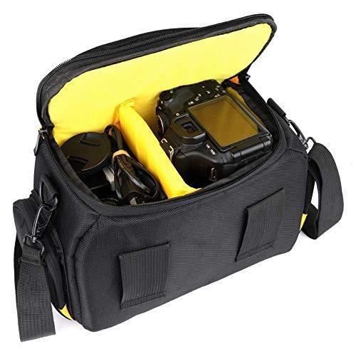 V/A Bolsa de la cámara réflex Digital Nikon D5600 Impermeable for D5300 D5500 D3400 D3300 D3100 D7200 D7100 D7500 D750 D810 de Nikon P900 Bolsas Bolsa de la cámara Digital SLR (Color : L)