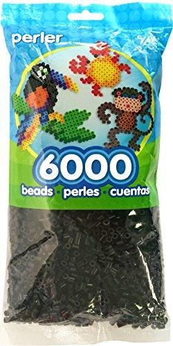 Perler Cuentas de plástico 6000 kg Negro