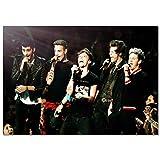 LDTSWES® Rompecabezas Rompecabezas, One Direction British Band 1000 Piezas Rompecabezas de Madera, para la Personalidad Reduce la presión Juegos Rompecabezas