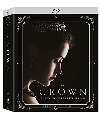 The Crown - Die komplette erste Season (4-Disc Collector\'s Edition) (Exklusiv bei Amazon.de) [Blu-ray]