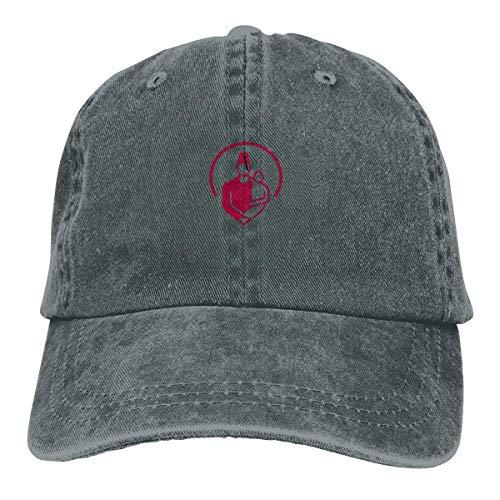shenguang Shriners Hospital for Children Logo Adjustable Vintage Washed Denim Cotton Dad Hat Baseball Caps Outdoor Sun Hat