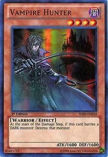 Yu-Gi-Oh! - Vampire Hunter (SHSP-EN034) - Shadow Specters - Unlimited Edition - Super Rare
