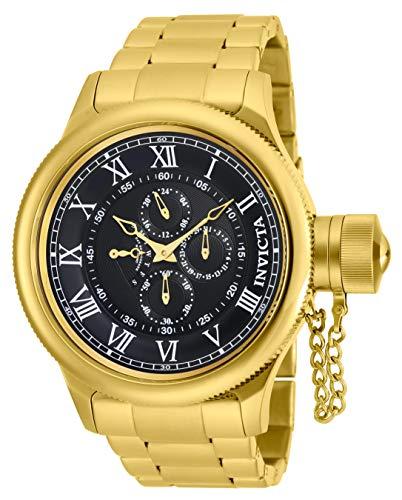 Men's  Russian Diver Analog Display Japanese Quartz Gold Watch - Invicta 17666