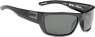 Optic Dega Sunglasses (Black ANSI, Happy Grey Green)
