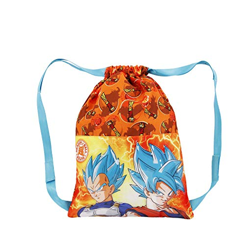 KARACTERMANIA Dragon Ball (Bola de Dragón) Energy-Saco de Cuerdas 31 cm, Naranja