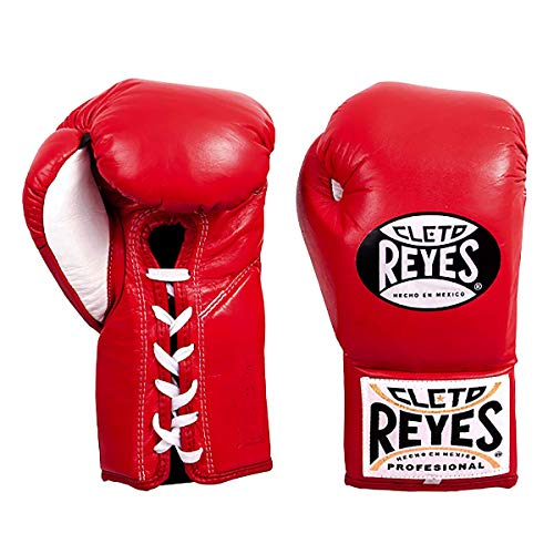 Cleto Reyes Professional Boxing Gloves for Man and Woman (8oz, Red)