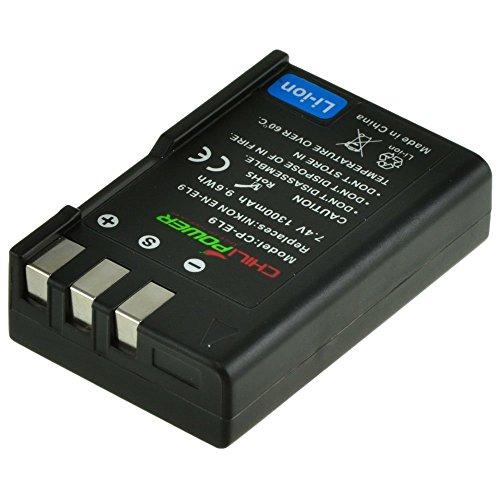 ChiliPower EN-EL9, ENEL9 - Batería para Nikon D3000, D5000, D40, D60, D40X, D3X