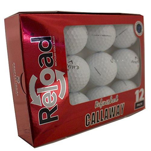 Callaway Unisex Chrome Soft Refinished Golf Balls (12 Pack)