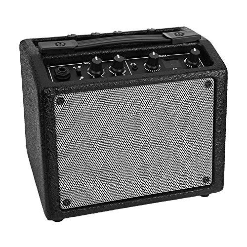 Bnineteenteam Amplificador de Guitarra eléctrica Recargable Guitarra Mini AMP Guitarra Altavoz
