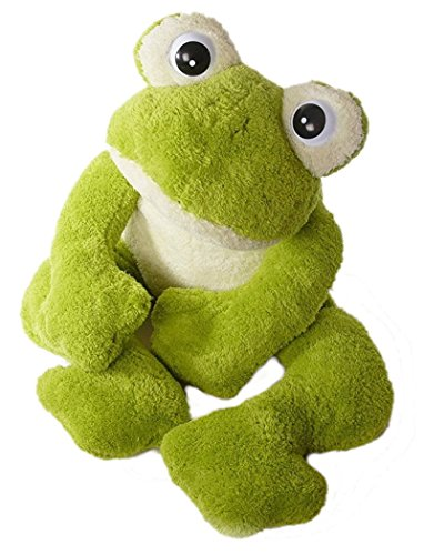 Inware 6228 - Kuscheltier Frosch Freaky, grün, XXL - 97 cm