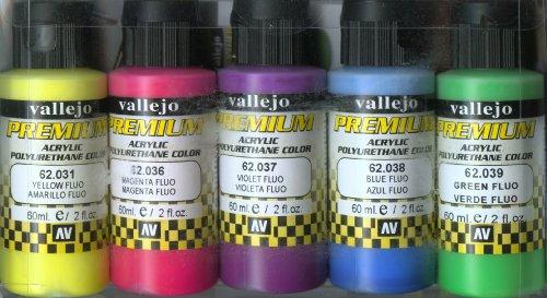 Vallejo-62102 62102 Premium Set DE 5 Color, Surtido
