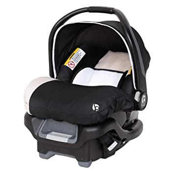 Baby Trend Ally 35 Unisex Newborn Baby Infant Car Seat Carrier Travel System with Extra Cozy Cover for Babies Up to 35 Pounds, Modern Khaki: image