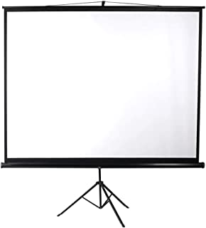 120 Inch Projector Screen Tripod Stand Home Outdoor Screens Cinema Portable HD3D Type B