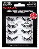 Ardell Professional Echthaarwimpern Demi Wispies (1 x 4 Paar), Eye-lashes für den natürlichen Look...