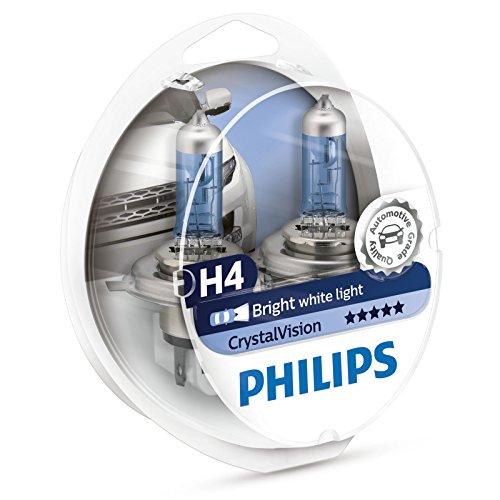 Philips CrystalVision 12342CVSM Ampoule H4 P43T-38 1100 lm 60 W