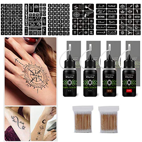 Kit Tatuaggio Temporaneo Impermeabile per...
