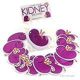 I Heart Guts Share Your Kidneys Stickers - 15 Kidney Stickers Vinyl Sticker Pack