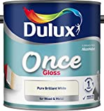 Dulux Once Gloss 2.5L Pure Brilliant White (546958)