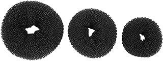 Frcolor 3pcs Hair Donut Bun Maker Hair Ring Styler Bun Form Shaper Chignon Maker for Women