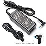 45W AC Adapter Laptop Charger for HP 15-ba079dx 15-ba113cl 15-bs015dx 15-bs113dx 15-bs115dx 15-bw011dx Pavilion X360 M3 11 13 15 Folio 1040 G1 G2 G3 Slatebook 14 HP Pro 410 G1