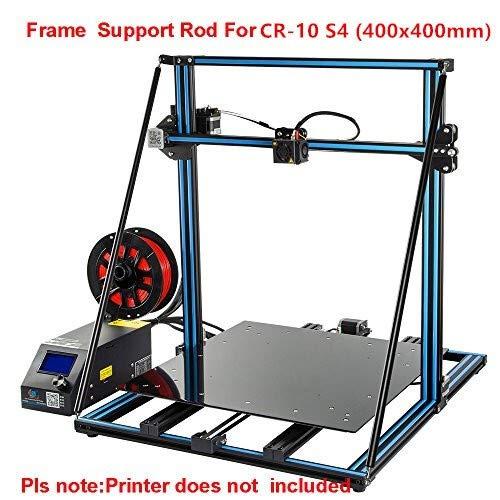 WNJ-TOOL, 1pc CR-10 S4 400 Millimetri Stampante 3D ASSE Z Aggiornamento Parti di Sostegno Rod Set Z Axsi Brace Kit for CR-10S S4
