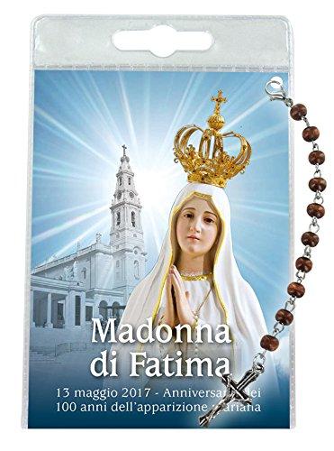 Ferrari & Arrighetti Decina de la Virgen de Fátima con blíster Transparente y oración