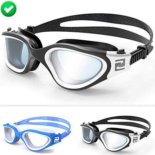 ZABERT Swimming Goggles Adult Mens Ladies Swim Goggles Youth Kids Age 10+,...