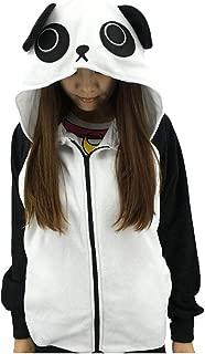 Unisex Cute Cartoon Zipper up Hoodie Tops Cosplay Costume