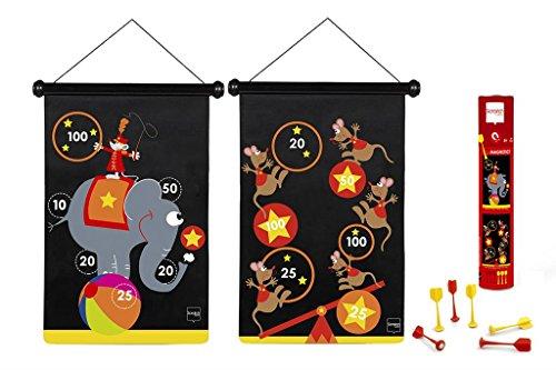 Scratch - 276182009 - Jeu de fléchettes magnétiques - Cirque - Taille Grand