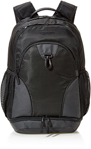 AmazonBasics Sport Laptop Backpack - Black