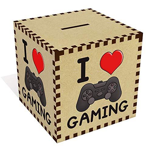 Groß 'I Love Gaming' Sparbüchse / Spardose (MB00000022)