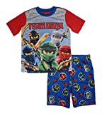LEGO Big Boy's Ninjago 2-pc Pajama Short Set, Multi Color, 10-12