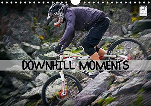 Downhill Moments (Wandkalender 2020 DIN A4 quer): Downhill...Bergabfahrt extrem (Monatskalender, 14 Seiten ) (CALVENDO Sport)