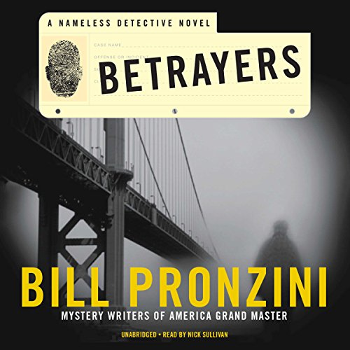 Betrayers audiobook cover art