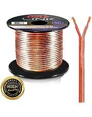 Pyle Speaker Zip Wire - cables de audio (Cobre, Plata)