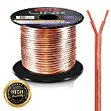 Pyle Speaker Zip Wire - cables de audio (Cobre, Plata)