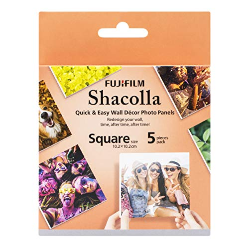 SHACOLLA BOX (5ST) SQUARE 4X4 inch (10,2 x 10,2 cm)