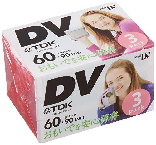 TDK MINI DV 3巻パック DVM60BUX3A