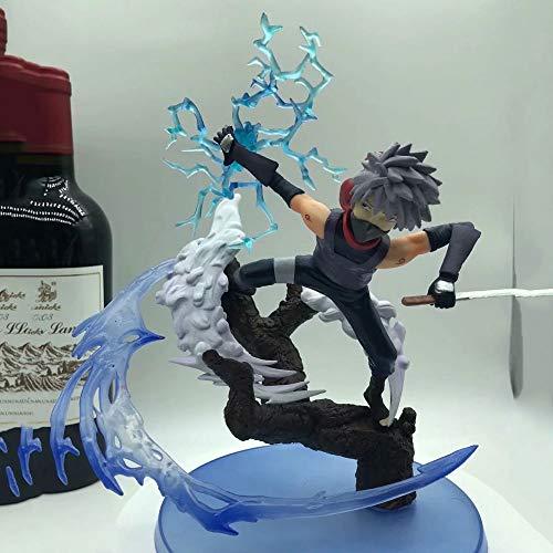 ZDYHBFE Naruto Studio Pierrot Rachel Styling Anime Figure Modell Boxed Spielzeug Geschenke