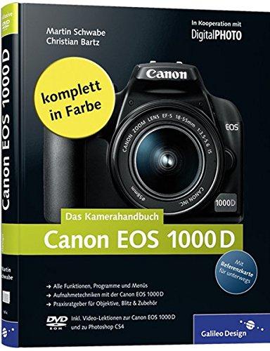 Canon EOS 1000D. Das Kamerahandbuch (Galileo Design) - Partnerlink