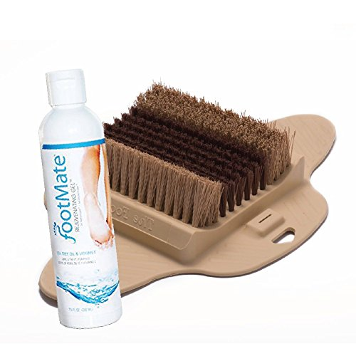shower feet scrubber for circulation