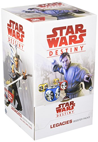 Fantasy Flight Games ffgswd11 Star Wars Destino Legados Booster Display Juego Set,versión Inglesa