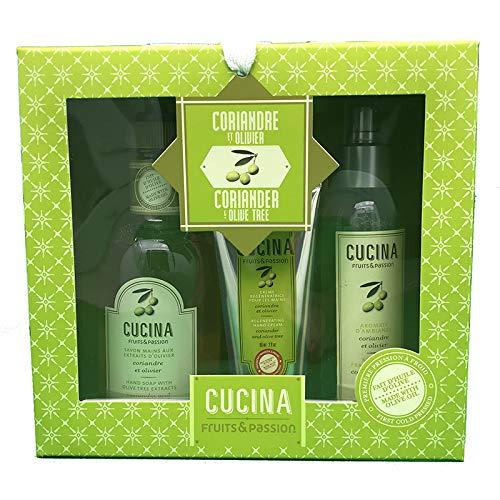 Cucina Coriander Olive Tree 3 Piece Gift Set
