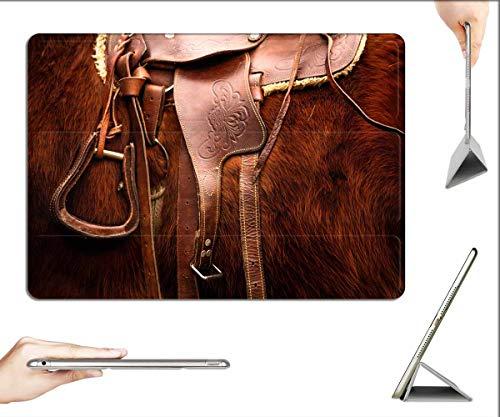 Case for iPad Pro 12.9 inch 2020 & 2018 - Saddle Horse Riding Animal Equestrian Stallion