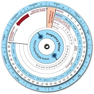 Best pregnancy wheel calculator by conception Reviews