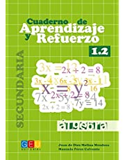 Cuaderno de aprendizaje y refuerzo 1.2 - Álgebra / Editorial GEU/ 1º ESO/ Refuerza conceptos aprendidos / Ideal para trabajar lenguaje algebráico