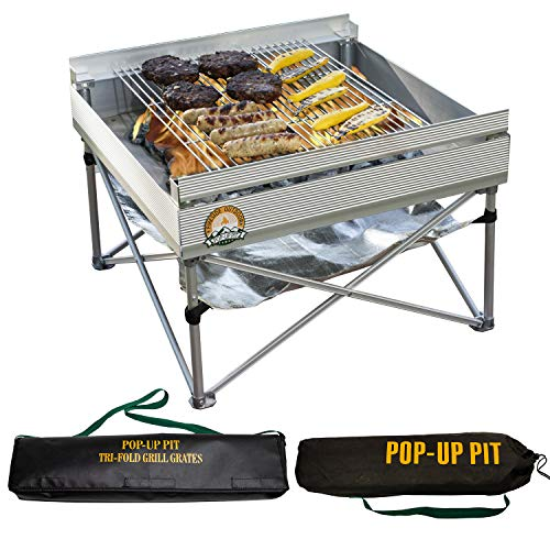 Pop-Up Fire Pit & Portable BBQ Grill Review
