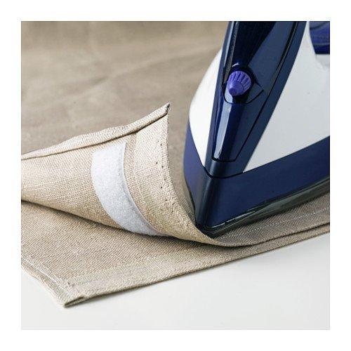 IKEA KARDBORRE Klettband in weiß; aufbügelbar
