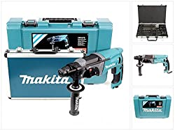 Makita HR2470 Drill with Drill and Chisel Set, 780 W, 220 V