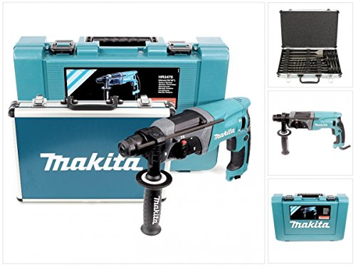 Makita HR2470+D-42444 Perforateur Burineur SDS Plus 780W + Coffret 17...